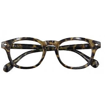Leesbril Unisex Bowie multifocale groene dikte +2.00