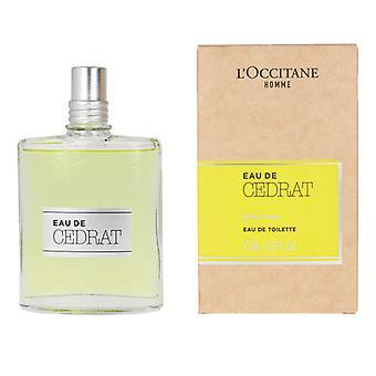 Men's Perfume Eau De Cedrat L'occitane DDT (75 ml)