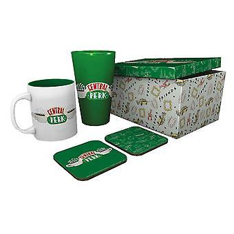 Amis Gift Set Mug Coaster et Pint Glass Central Perk nouveau officiel Boxed