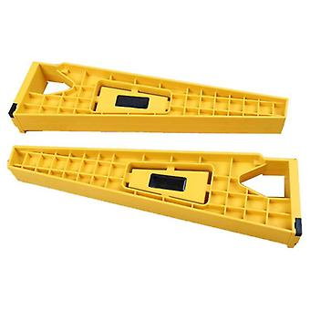 2pcs Drawer Track- Installation Jig Drawer Slide Mounting Cabinet Hardware Woodworking Tools