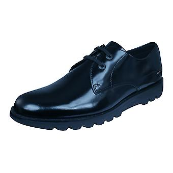 Kickers Kymbo Lace AM Mens Leather Shoes / Brogues - Black