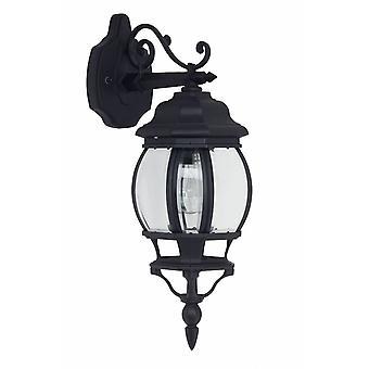 Brilliant Lampada Istria Lampada da parete all'aperto appeso nero 1x A60, E27, 60W, adatto per lampade normali (non incluse)