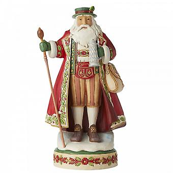 Jim Shore Heartwood Creek Herr Winter - Duitse Kerstman Beeldje