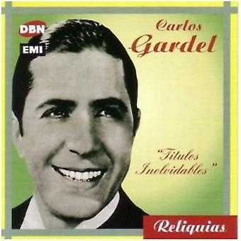Carlos Gardel - Titulos Inolvidables [CD] Vs import