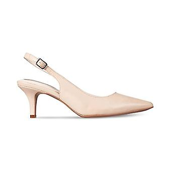 ألفاني المرأة & apos أحذية Babbsy الجلود وأشار إلى الو- SlingBack د-orsay مضخات
