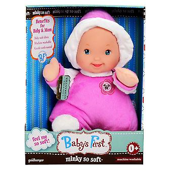 Baby's First Minky Doll