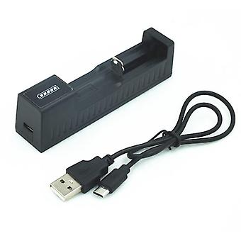 2 Slot Universal Smart Battery Charger For Rechargeable Batteries With Usb Cable