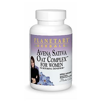 Planetary Herbals Avena Sativa Oat Complex, Pour femmes, 100 onglets