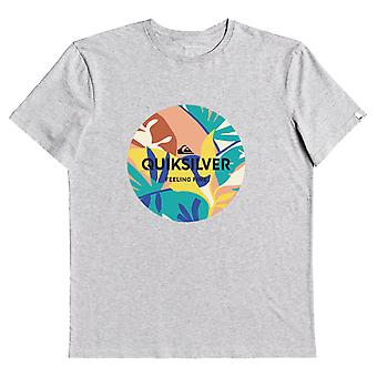 Quiksilver Summer Ends T-Shirt - Grey Heather