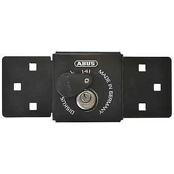 Abus ABU14126BLK Integroitu Van Lock Musta 70mm Diskus-riippulukolla