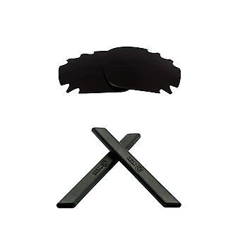 الاستقطاب استبدال العدسات عدة ل Oakley تنفيس سباق سترة ايريديوم الأسود المضادة للخدش المضادة للوهج UV400 SeekOptics