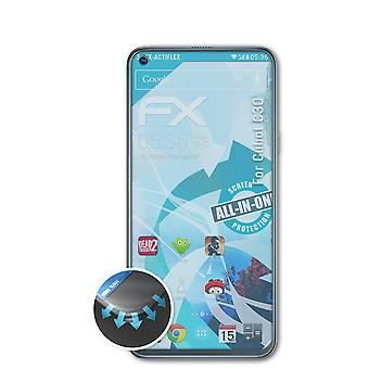 atFoliX 3x Protective Film compatible with Cubot C30 Screen Protector clear&flexible