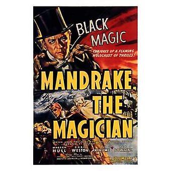 Mandrake the Magician Movie Poster (11 x 17)