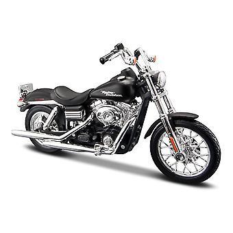 Maisto Harley Davidson 2006 FXDBI Dyna Street Bob - Black - 1:18