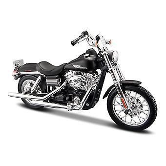 Maisto Harley Davidson 2006 FXDBI Dyna Street Bob - Musta - 1:18