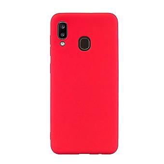 Röd Samsung Galaxy A20 mål