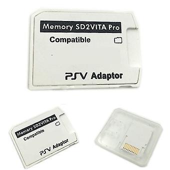 Version 5.0 Sd2vita For Ps Vita Memory, Tf Card For Psvita Game Card Psv