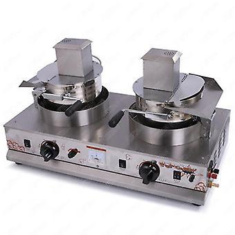 Rustfritt stål enkelt hode gass popcorn maskin for kjøkkenutstyr