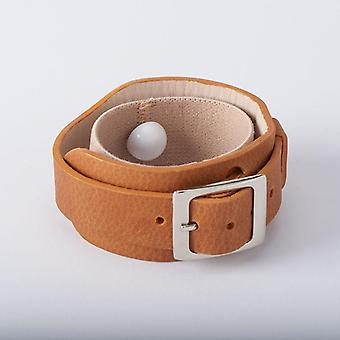 Lucy Watch-style Leather Bracelet