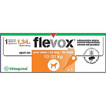Vétoquinol Flevox Hund 10-20 kg (Hunde , Wurmkuren , Pipetten)