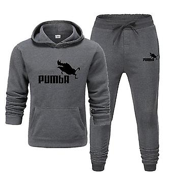Homens Casual Cotton Fall/Winter Warm Sweatshirts Casual Tracksuit Costume