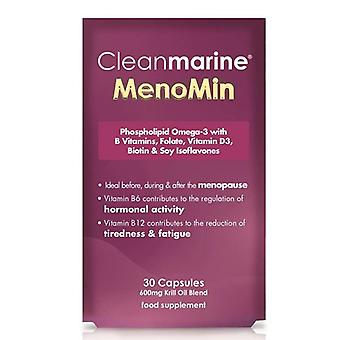 Cleanmarine Menomin for Women 600mg Gelcaps 30 (NLF072)