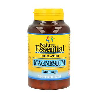 Chelated Magnesium 250 tablets of 300mg