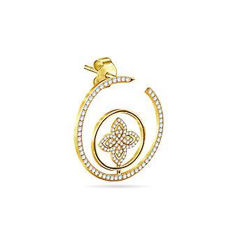 Cercei Felicity Pride, 18K Gold & Diamonds