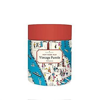 Cavallini Vintage New York CITY MAP 500 Stück Puzzle