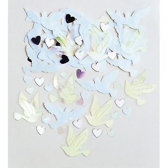 Confetti Wedding Pigeons 14 Grams