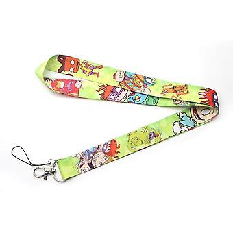 Flyingbee Kawaii Kids Lanyard Phone Rope Keychains Phone Lanyard For Keys Id