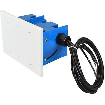 2.4/5GHz 5/6 dBi  WiFi Junction Box Antenna 4RPTNC