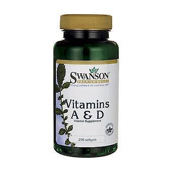 Vitamins A & D 250 softgels