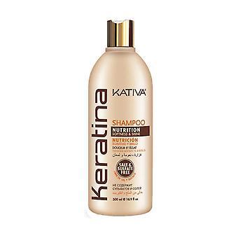 Keratin nourishing shampoo 500 ml