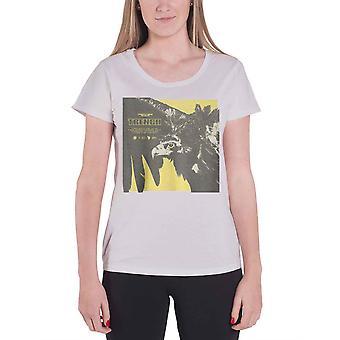 Twenty One Pilots T Shirt Trench Cover Square Logo Womens New Grey