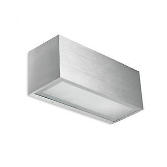 Lia Aplique, Alumiinio Cepillado Y Vidrio