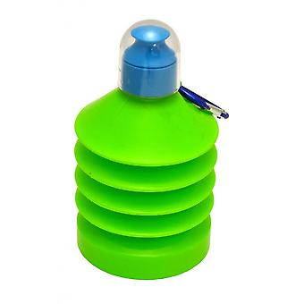 Armazenamento Wham Shrinkable 500ml Plastic Water Bottle Verde/azul