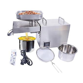 220v 1500w Temperature Controlled Stainless Steel Oil Press Machine