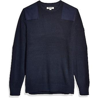 Goodthreads Men's Soft Cotton Sotilaspusero, Laivasto XX-Large