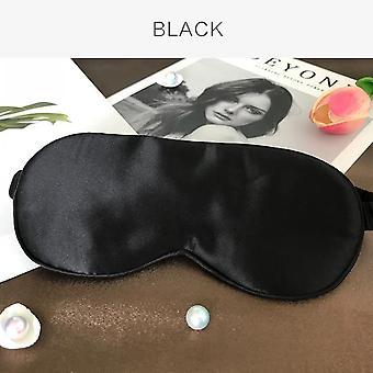 100% natuurlijke zijde slaap oog masker schaduw zachte slaapmasker oog patch ademende ogenhade slaapverband op ogen om te slapen