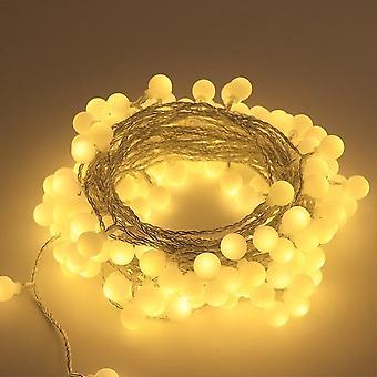 10M 20m низкое напряжение привело огни строки водонепроницаемый открытый светильник Рождество праздник освещения свадебной вечеринки огни украшения