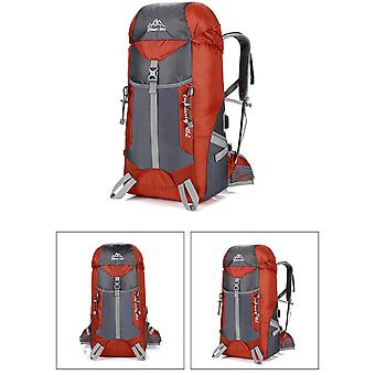 Picnic Travel Outdoor Mountaineering Bag USB Charging Sports Backpack