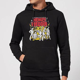 Scooby Doo Heavy Meddle Logo Merchandise Hoodie Hoody Hooded Top - Black