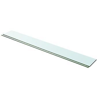 vidaXL hyllyt 2 kpl. lasi Läpinäkyvä 100 x 12 cm