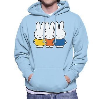 Nijntje Trio Heren's Sweatshirt met capuchon