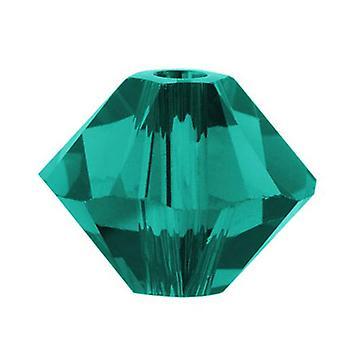 Swarovski Crystal, #5328 Bicone Pärlor 3mm, 25 Pieces, Blue Zircon