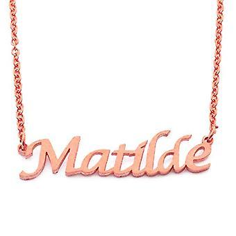 KL Kigu Matilde - カスタマイズ可能な名前の女性ネックレス、ファッショナブルなジュエリー、ガールフレンド、ママ、姉妹のための贈り物