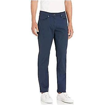 Essentials Men's Slim-Fit 5-Pocket Stretch Twill Pant