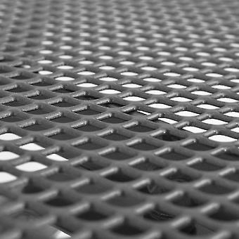 vidaXL Puutarha Ruokapöytä Teräsverkko 150 x 90 x 72 cm