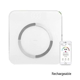 Gerui USB Charging Weight Scale Smart(White)